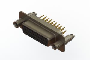 638-M26-330-BN6 - Machined D-Sub Connectors