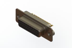 638-M26-332-BN2 - Machined D-Sub Connectors
