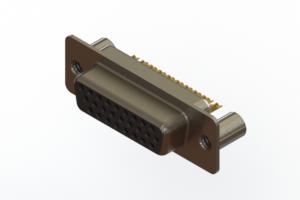 638-M26-332-BN3 - Machined D-Sub Connectors