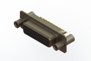 638-M26-332-BN4 - Machined D-Sub Connectors