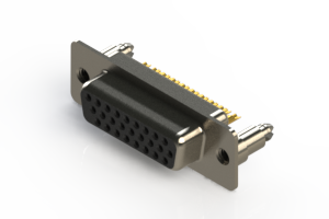 638-M26-332-BN5 - Machined D-Sub Connectors