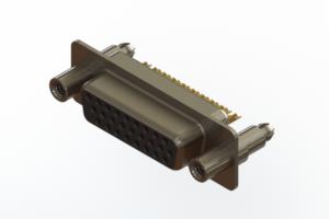 638-M26-332-BN6 - Machined D-Sub Connectors