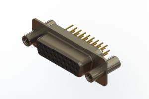638-M26-630-BT4 - Machined D-Sub Connectors