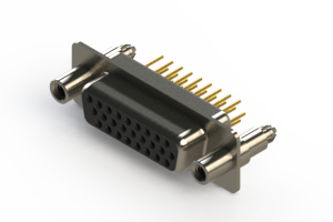 638-M26-630-BT6 - Machined D-Sub Connectors