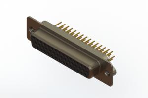 638-M44-230-BN2 - Machined D-Sub Connectors