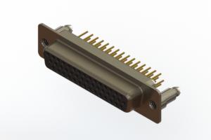 638-M44-230-BN5 - Machined D-Sub Connectors
