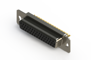 638-M44-232-BN1 - Machined D-Sub Connectors