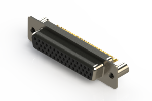 638-M44-232-BN3 - Machined D-Sub Connectors