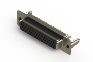 638-M44-232-BT5 - Machined D-Sub Connectors
