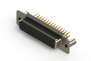 638-M44-330-BN3 - Machined D-Sub Connectors