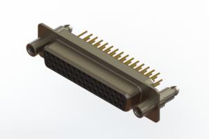 638-M44-330-BN6 - Machined D-Sub Connectors