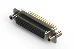 638-M44-330-BT4 - Machined D-Sub Connectors