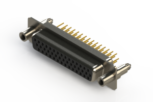 638-M44-630-BT6 - Machined D-Sub Connectors