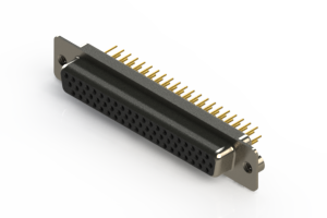 638-M62-230-BN2 - Machined D-Sub Connectors