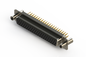638-M62-230-BN4 - Machined D-Sub Connectors
