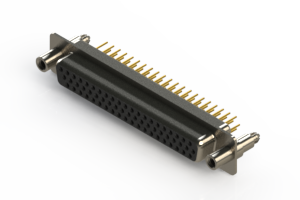 638-M62-230-BN6 - Machined D-Sub Connectors