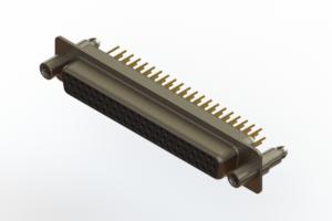 638-M62-230-BT6 - Machined D-Sub Connectors