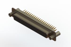 638-M62-330-BN4 - Machined D-Sub Connectors