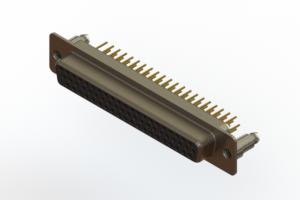 638-M62-330-BN5 - Machined D-Sub Connectors