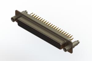 638-M62-330-BT6 - Machined D-Sub Connectors