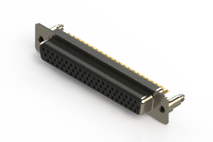 638-M62-332-BN5 - Machined D-Sub Connectors