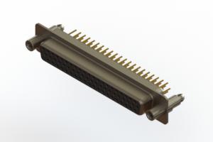 638-M62-630-BN6 - Machined D-Sub Connectors