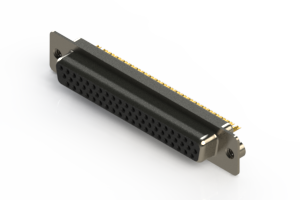 638-M62-632-BN2 - Machined D-Sub Connectors