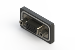 638-W15-222-012 - Waterproof High Density D-Sub Connectors