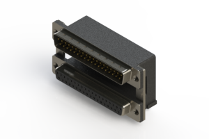 663-037-264-008 - D-Sub Connector | Right Angle