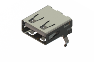 690A104-123-220 - USB Type‐A connector