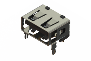 690A104-123-621 - USB Type‐A connector