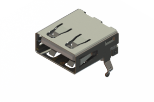 690A104-323-220 - USB Type‐A connector