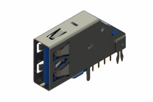 690D109-139-212 - USB 3.0 Type-A connector