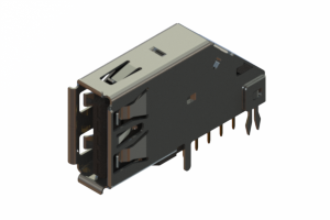 690D109-339-011 - USB 3.0 Type-A connector