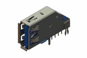 690D109-639-012 - USB 3.0 Type-A connector