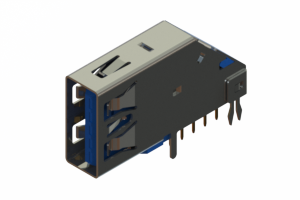 690D109-639-212 - USB 3.0 Type-A connector