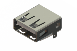 690J104-267-210 - USB Type-A connector