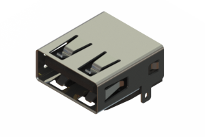 690J104-267-211 - USB Type-A connector