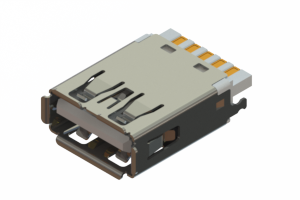 690M109-3AD-020 - USB 3.0 Type-A cable end connector