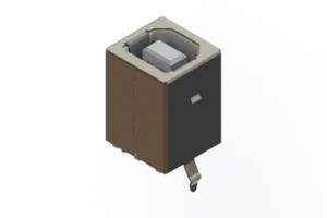 690Q204-343-220 - USB Type-B connector