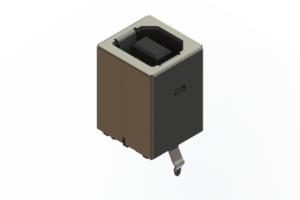 690Q204-343-221 - USB Type-B connector