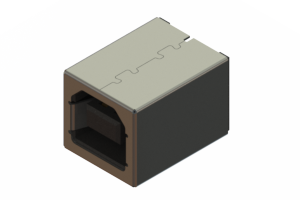 690S204-290-221 - USB Type-B cable end connector
