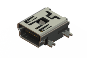 690T205-26B-211 - USB Type-B Mini connector