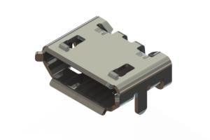690T505-562-010 - USB Type-B Mini connector