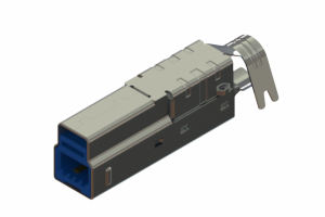 691F209-390-772 - USB Type-B cable end connector