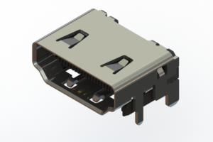 694A619-164-011 - HDMI Type-A 2.1 connector
