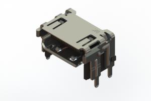 694A619-265-211 - HDMI Type-A 2.1 connector
