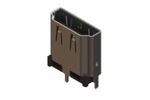 694F119-671-011 - HDMI Type-A connector