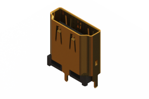 694F119G571-011 - HDMI Type-A connector