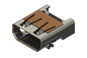 694H319-266-211 - HDMI Type-D connector